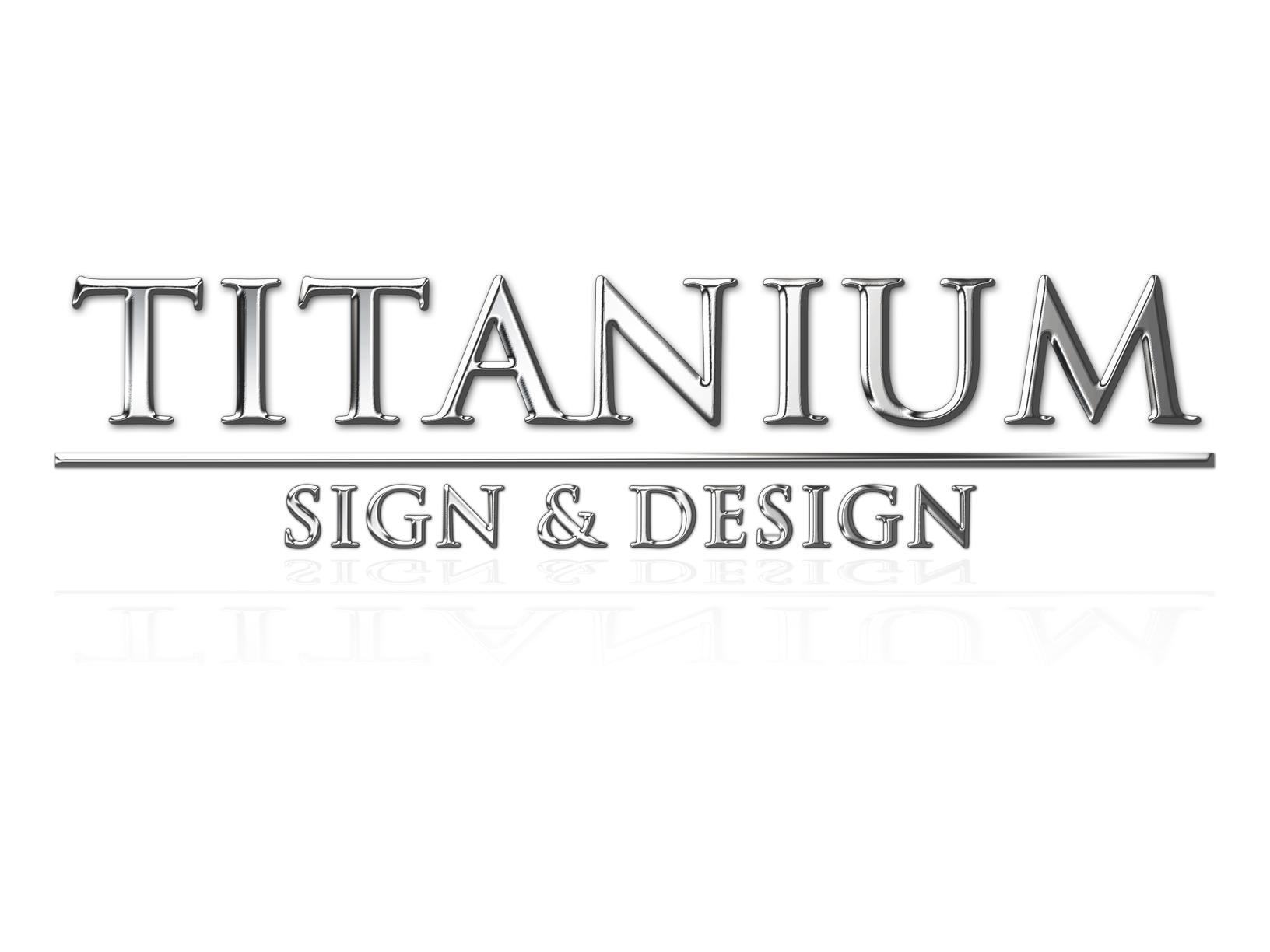 titanium sign amp design print amp design shop in medicine