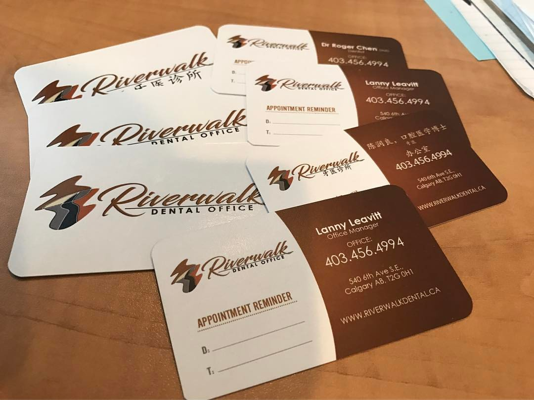 Titanium sign design print design shop in medicine hat web business card gallery under construction here are some creative ideas we have come across reheart Choice Image